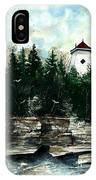 Lighthouse Cliff IPhone Case