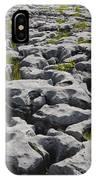 Limestone In The Burren IPhone Case