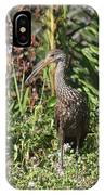 Limpkin And Apple Snail IPhone Case
