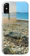 Lloyd's Bathing Beach At Sakonnet Point In Little Compton Ri IPhone Case