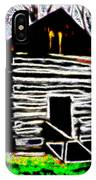 Log Cabin Home IPhone Case