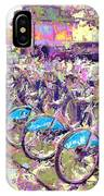 London Bikes IPhone Case