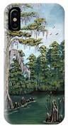 Louisiana Cypress IPhone Case