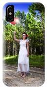 Love Heart Balloons  IPhone Case