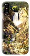 Lower Falls 2 IPhone Case