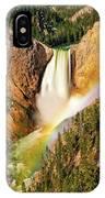 Lower Falls Rainbow IPhone Case