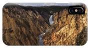 Lower Yellowstone Falls II IPhone Case