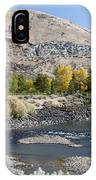 744p Lucky Peak Dam Sandy Point Id IPhone Case