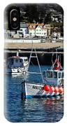 Lyme Regis Harbour IPhone Case