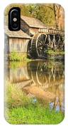 Mabry Mill 2 IPhone Case