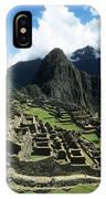 Machu Picchu Panorama IPhone Case