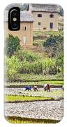 Madagascan Paddyfield IPhone Case