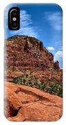 Madonna And Child Two Nuns Rock Formations Sedona Arizona IPhone Case
