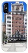 Madrid Building IPhone Case