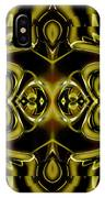Mambo In Gold And Red IPhone Case