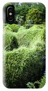 Man Lost Inside A Maze Or Labyrinth IPhone Case