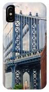 Manhattan Bridge View IPhone Case