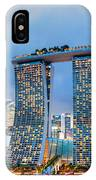 Marina  Bay Sands - Singapore IPhone Case
