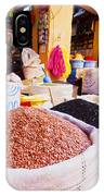 Market In Fes In Morocco IPhone Case
