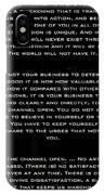 Martha Graham IPhone Case