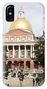 Massachusetts State House - Boston  IPhone Case