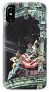 Mechanical Clock In Munich Germany IPhone Case