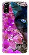 Meow 2 IPhone Case