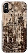 Metal England Castle IPhone Case