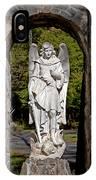 Michael Defeats Lucifer IPhone Case