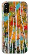 Middle Mountain Aspens IPhone Case