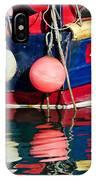 Miss Pattie At Lyme Regis Harbour  IPhone Case