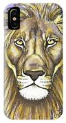 Mod Male Lion IPhone Case