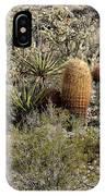 Mojave Desert Cactus IPhone Case