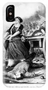 Molly Pitcher (c1754-1832) IPhone Case