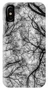 Monochrome Forest IPhone Case