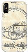 Monocycle Patent 1894 - Vintage IPhone Case