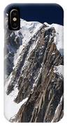 Mont Blanc Massif IPhone Case