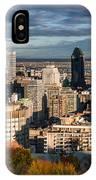 Mont Royal IPhone Case