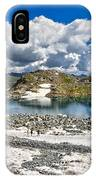 Monticello Lake - Tonale Pass IPhone Case