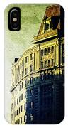Morningside Heights Green IPhone Case