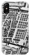 Moscow: Kitai-gorod Map IPhone Case