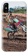 Motocross Rider IPhone Case