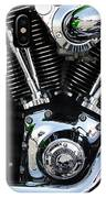 Motorcycle Engine IPhone Case