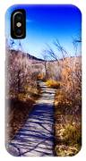 Mountain Creek Path-sundance Utah IPhone Case