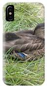Ms Mallard IPhone Case