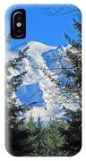 Mt. Rainier I IPhone Case