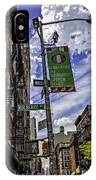 Mulberry St - Nyc IPhone Case