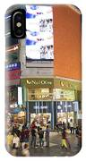 Myeongdong Shopping Street In Seoul South Korea IPhone Case