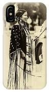 Native American Pow Wow In Montana IPhone Case