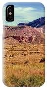 Navajo Nation Series Along 87 And 15 IPhone Case